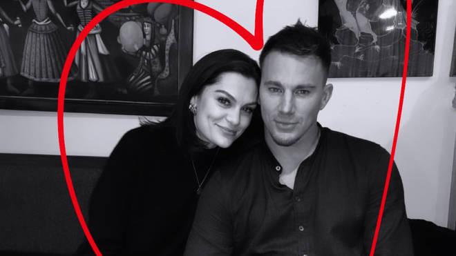 Jessie J shared a photo of her and Channing Tatum to her Instagram