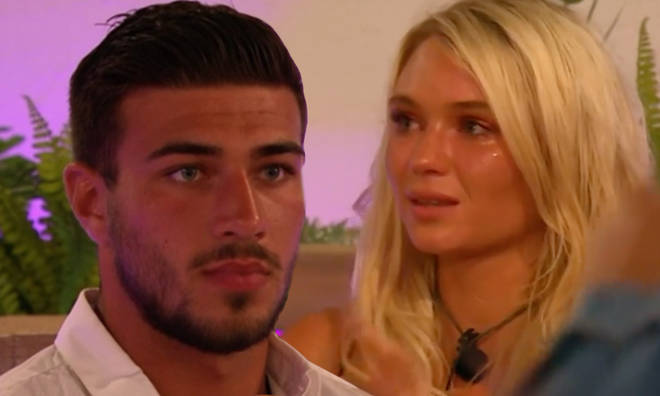 Tommy Fury had a face like thunder when Lucie Donlan returned with her new man