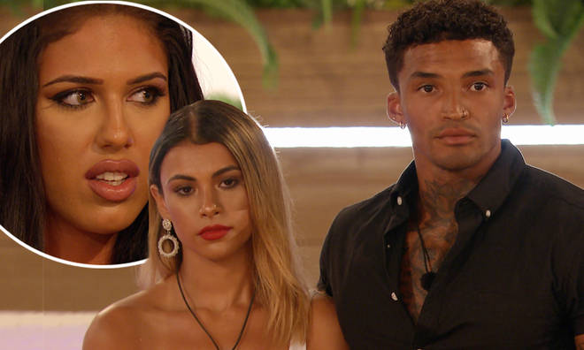 Anna Vakili looked furious when Michael chose Joanna over Amber Gill