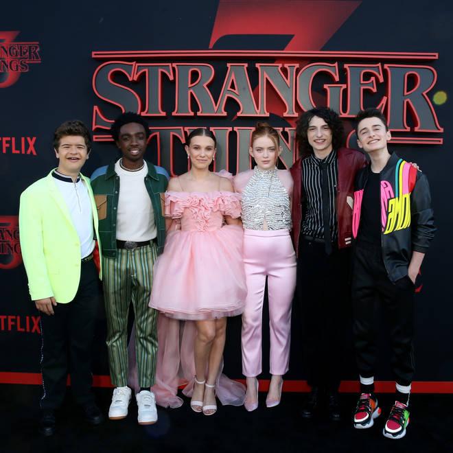 The cast of Stranger Things 3