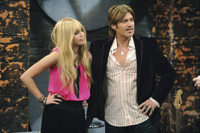 Miley Cyrus starred in Hannah Montana for four seasons