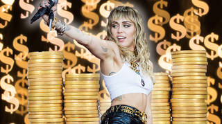 Miley Cyrus's net worth revealed
