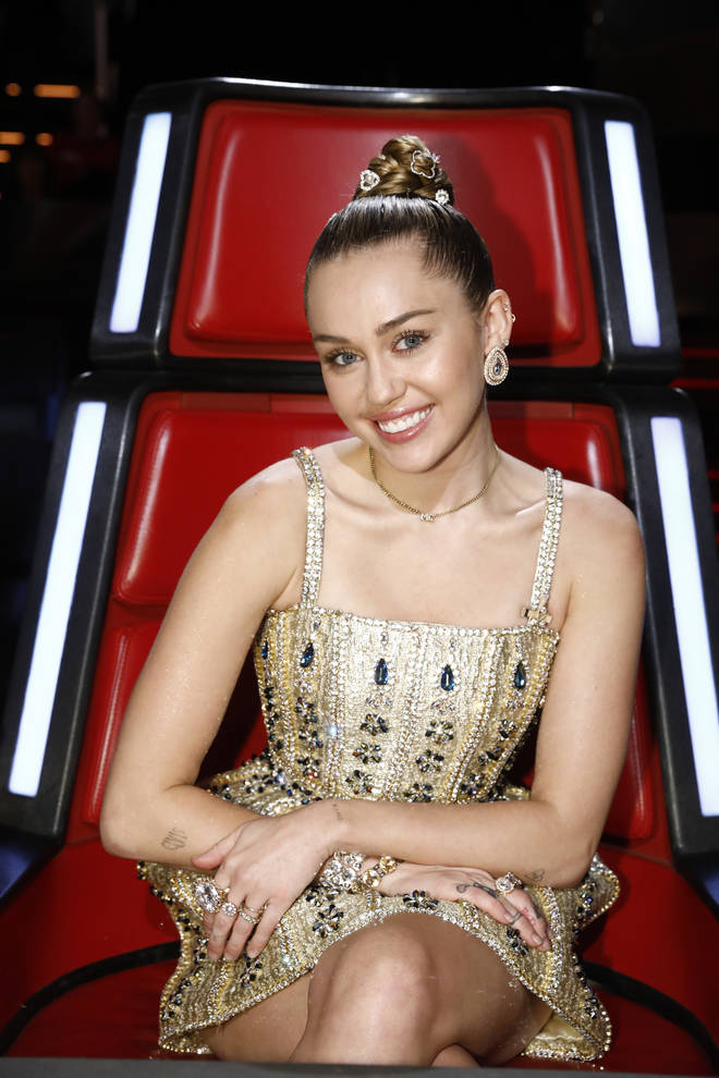 Miley Cyrus was paid millions for coaching on The Voice