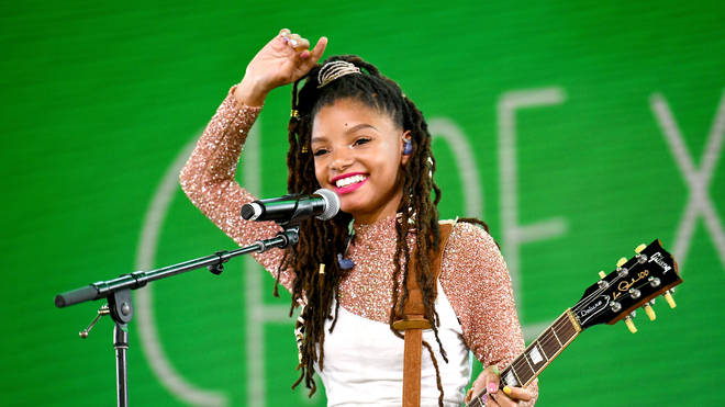 Halle Bailey performed at Coachella in 2018