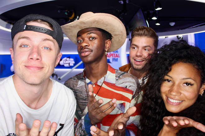 Lil Nas X joined Capital Breakfast with Roman Kemp