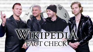 5SOS correct their own Wikipedia page