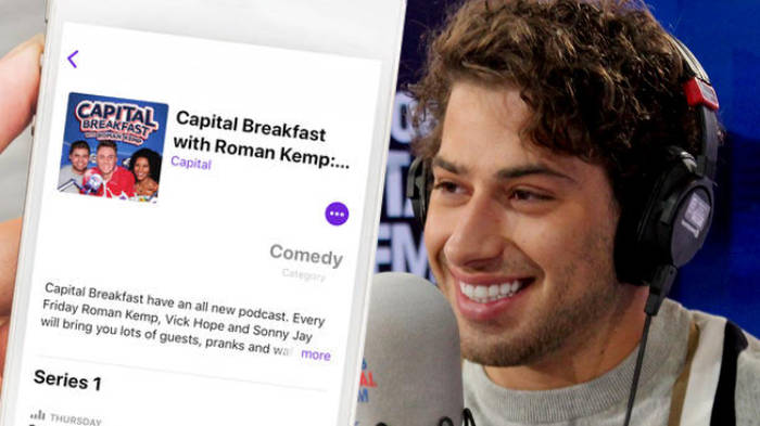 Love Island Hero Kem Cetinay Joins The Brekkie Trio On Capital Breakfast With Roman Kemp: The Podcast