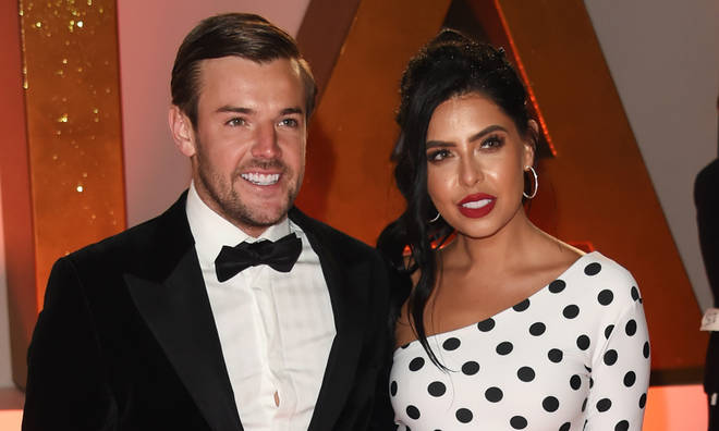 Nathan Massey and Cara de la Hoyde are now married