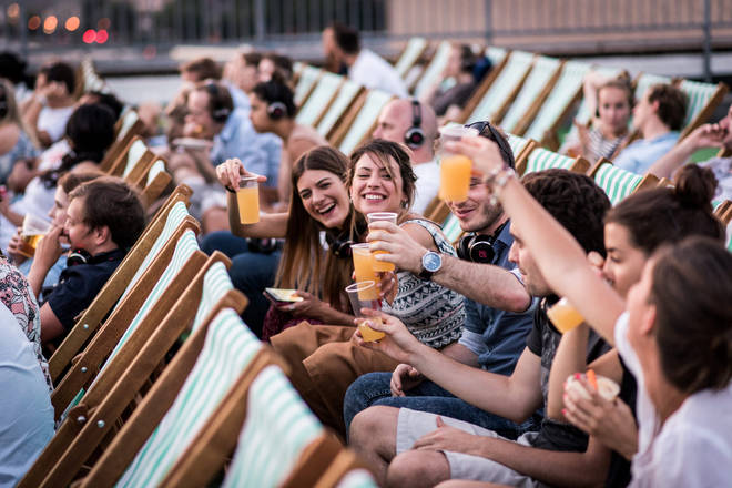 Rooftop Film Club is the perfect way to spend a summer's evening