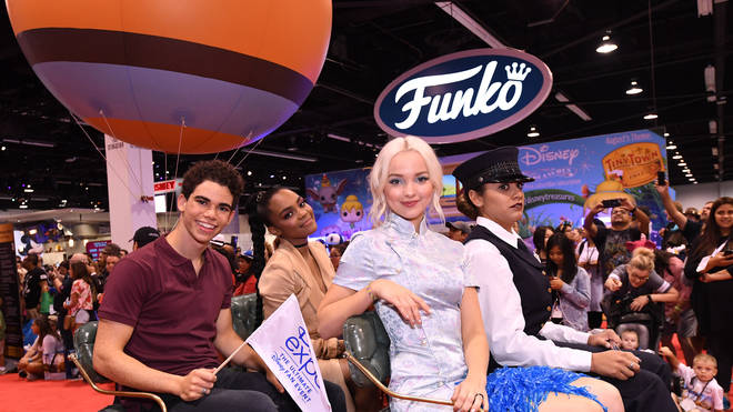 China Anne McClain starred with Cameron Boyce in Descendants