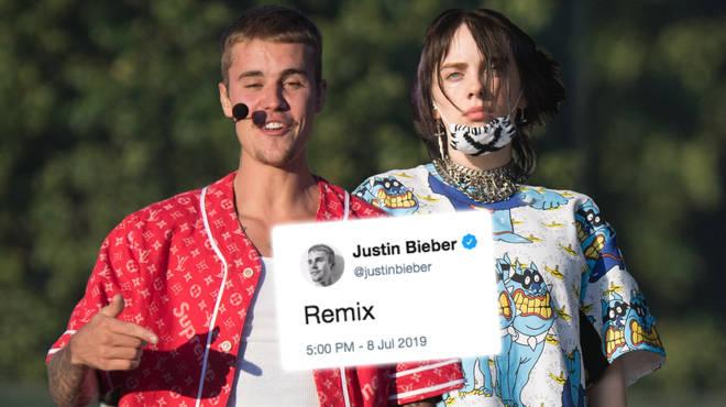 Billie Eilish's Justin Bieber 'Bad Guy' Remix: Listen To The