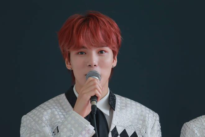 Member Minhyuk of South Korean boy band Monsta X