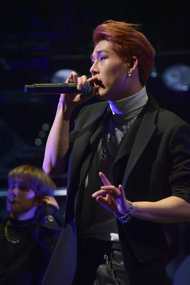 Jooheon is Monsta X's lead rapper