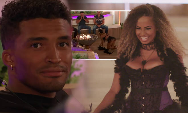 Amber Gill got Michael Griffiths' heart racing more than Joanna Chimonides