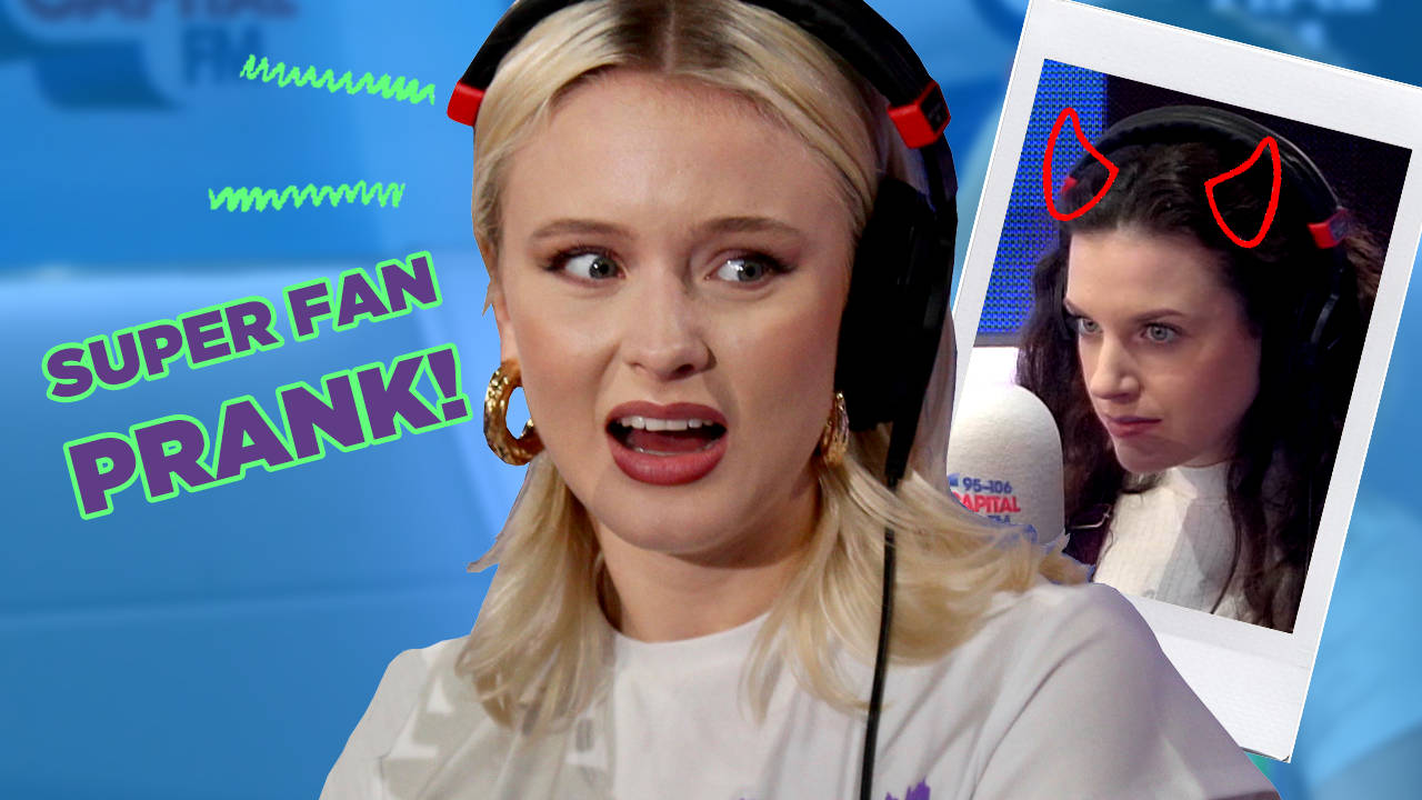 WATCH: We Pulled The Most Awkward Super-Fan Prank On Zara Larsson Ever