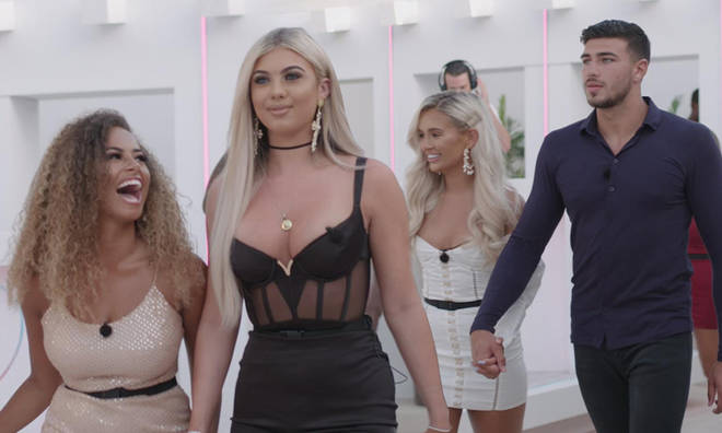 The Love Island cast were treated to a club night but it looked more like TOWIE