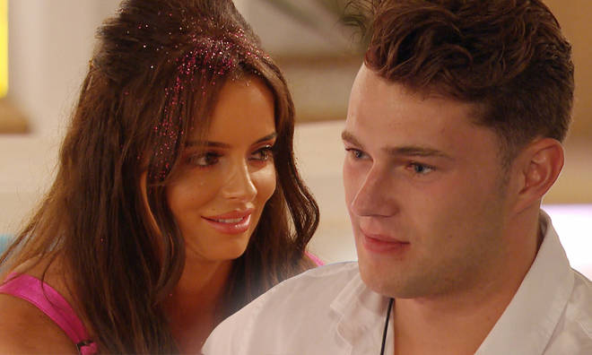Maura Higgins has turned her attentions to Curtis Pritchard