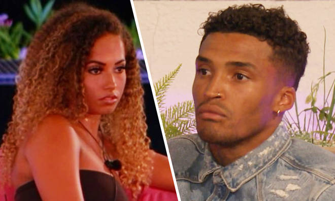 Amber Gill told to 'sit down' by Michael in savage conversaiton