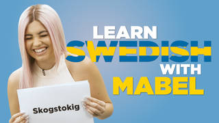 Mabel teaches you Swedish phrases