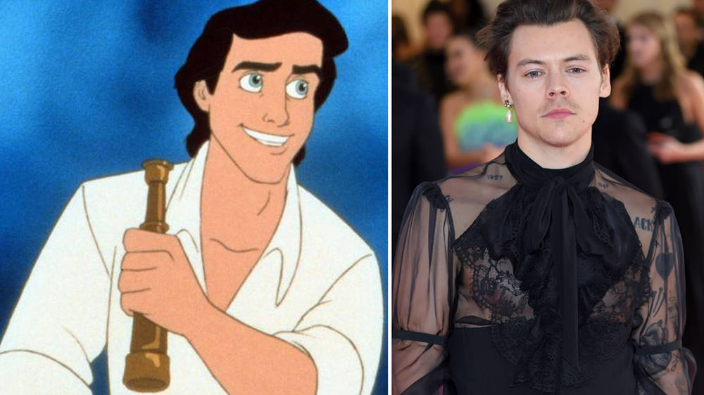 Harry Styles 'in talks' to play Prince Eric in the Little Mermaid