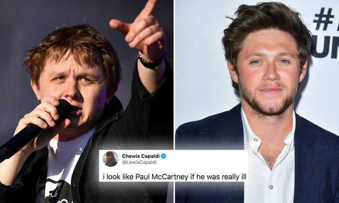 Lewis Capaldi and Niall Horan as old men is hilarious
