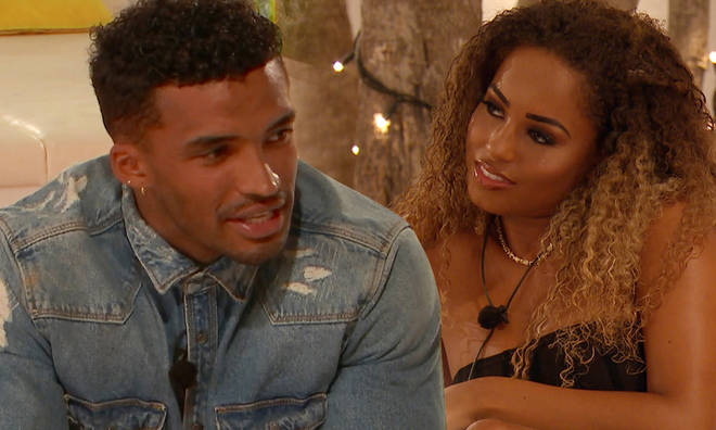 Michael Griffiths told Amber Gill he still has feelings for her on Love Island