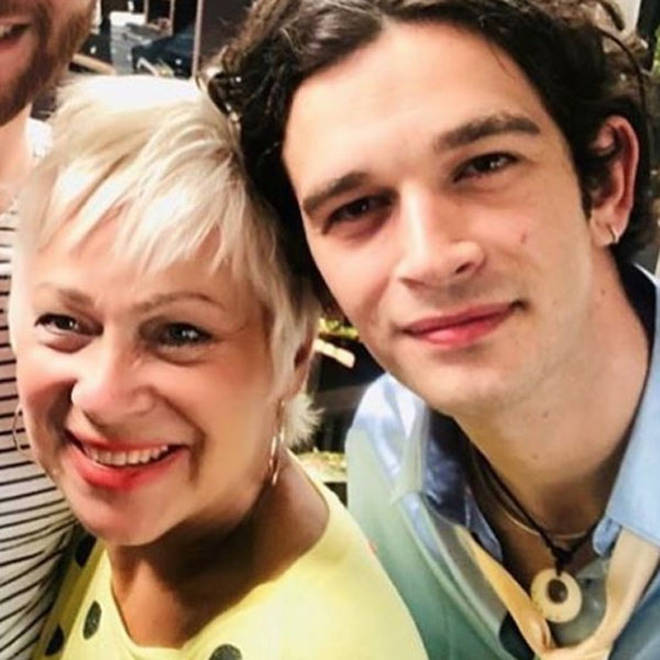 Denise Welch's son is Matty Healy