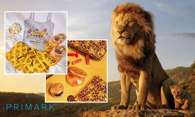 Primark's Lion King merchandise includes pyjamas and bedding