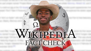Lil Nas X corrects his own Wikipedia page