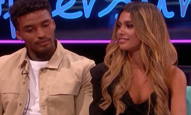 Michael Griffiths and Joanna Chimonides reunited on Love Island: Aftersun