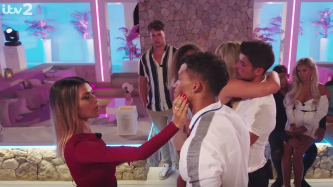 Joanna Chimonides was left upset when Michael Griffiths didn't leave Love Island with her