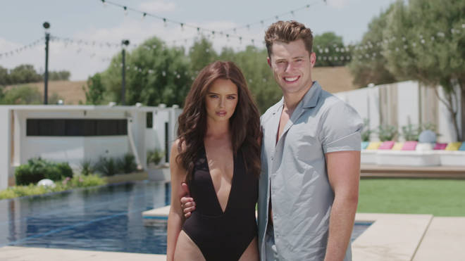 Curtis Pritchard and Maura Higgins coupled up after Amy Hart left the villa