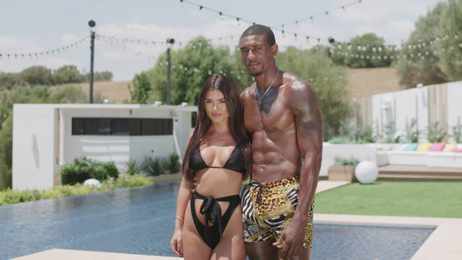 Ovie Soko is coupled up with India Reynolds