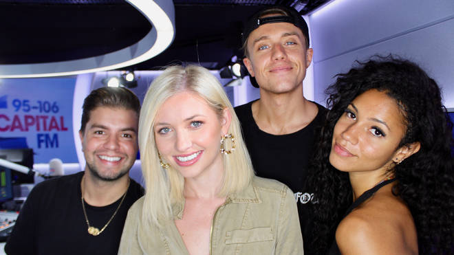 Amy Hart joined Capital Breakfast with Roman Kemp