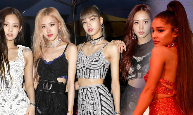 Ariana Grande said she would love to team up with Blackpink
