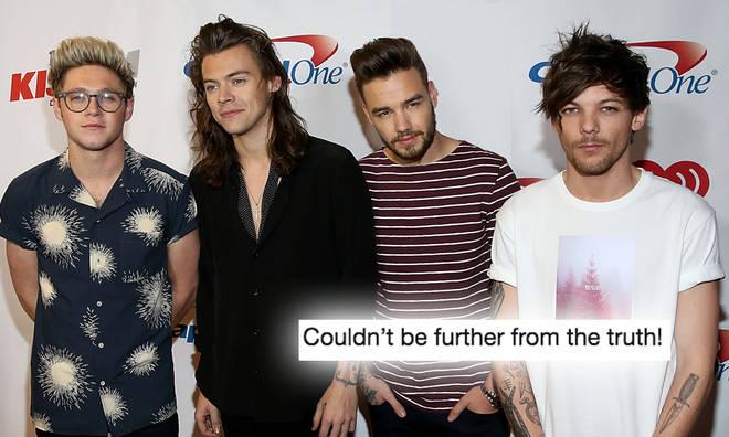 Louis Tomlinson shutdown rumours about why 1D split