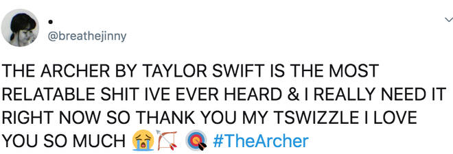 Fans are obsessed with Taylor's latest track 'The Archer'