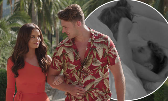 Curtis rejected Maura's sexual advances on Love Island