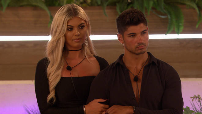 Anton Danyluk coupled up with Belle in Love Island