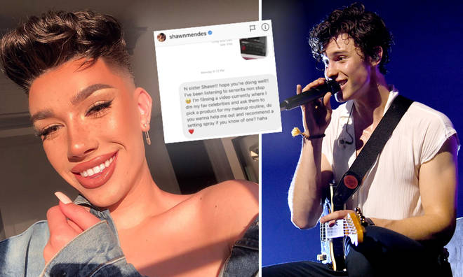 James Charles posts receipts of some of the biggest names in showbiz