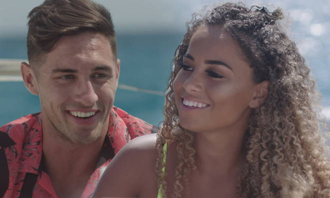 Amber Gill and Greg O'Shea are apparently being prepared for life on the outside
