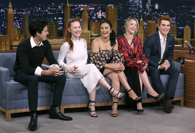 The Riverdale cast thought Lili Reinhart and Cole Sprouse's cover shoot was amazing