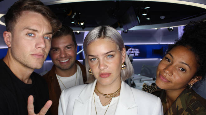 Anne-Marie spoke to Capital Breakfast with Roman Kemp