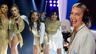 Anne-Marie hinted that she could be collaborating with Little Mix