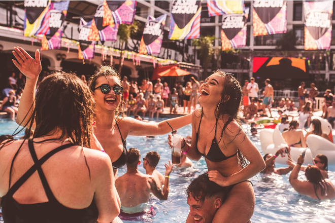 Win a trip with two mates to Ibiza!