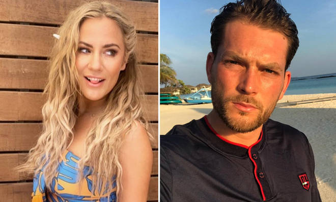 Caroline Flack has gone public with her boyfriend Lewis Burton