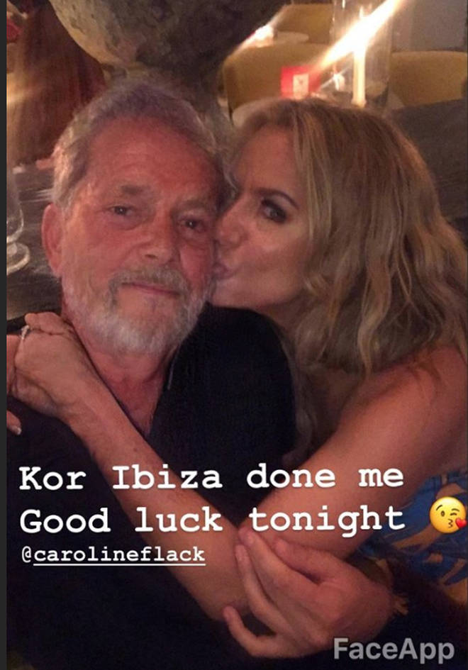 Caroline Flack and Lewis Burton packed on the PDA in Ibiza