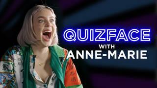 Anne-Marie plays the weirdest quiz around... Quizface
