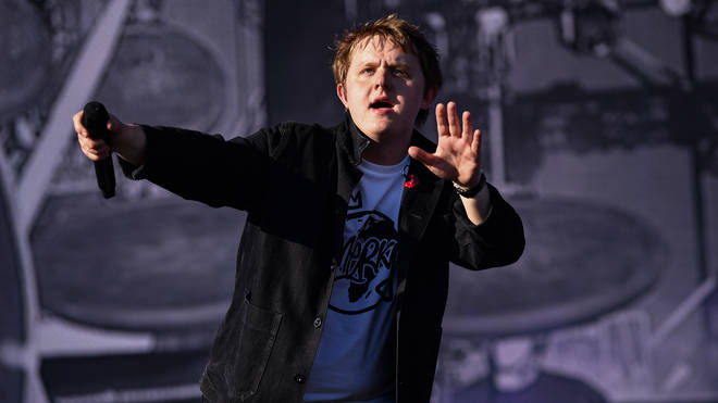 Lewis Capaldi takes to the stage in Scotland
