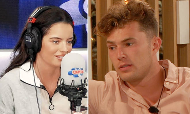 Maura Higgins spoke out about Curtis Pritchard's revelation on Capital Breakfast with Roman Kemp